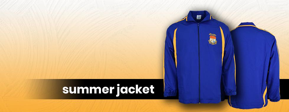 Summer Jackets Banner