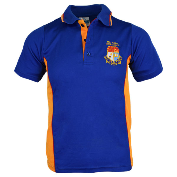 School Polo Front View